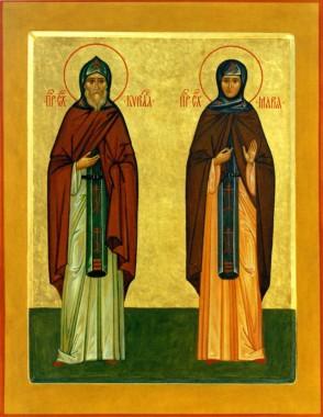 преподобные Кирилл и Мария - родители Сергия Радонежского