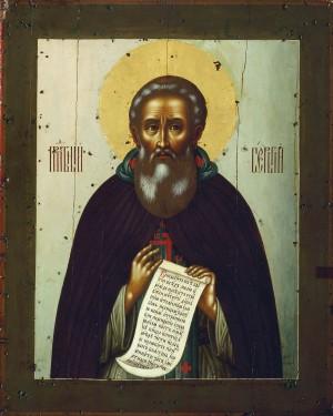 Сергий Радонежский. XVII в. Симон Ушаков