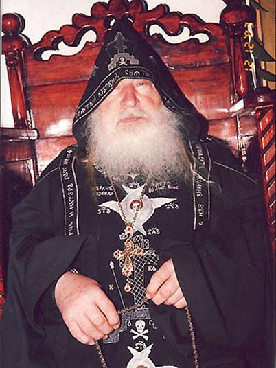 старейший клирик оренбургской митрополии схиархимандрит Cерафим (Томин)