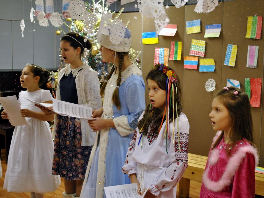 Рождественский концерт детской церковно-приходской школы, 12 Jan, 2013