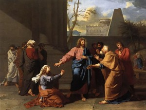 Christ and the Canaanite Woman - Germain-Jean Drouais, 1784