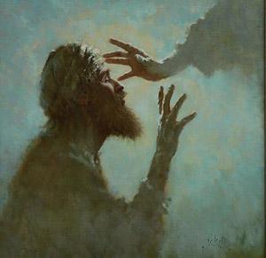 Исцеление слепого Вартимея