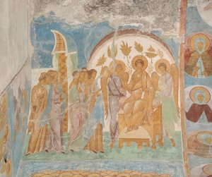 Притча о десяти девах. Пафнутьево-Боровский монастырь. Дионисий.