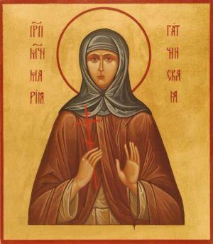 Преподобномученица Мария (Лелянова), монахиня. Святая Мария Гатчинская. День памяти 17 апреля