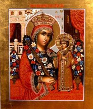 Молясь у иконы Неувядаемый Цвет - мы наполняем свою душу живительным потоком Любви