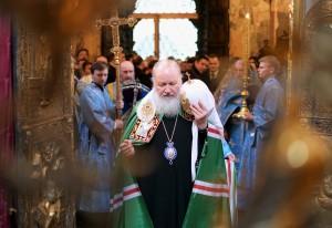 Проповедь Патриарха Кирилла на Благовещение