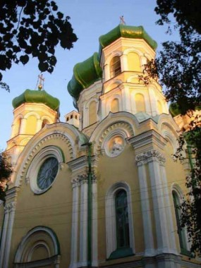 Павловский собор г. Гатчина, где находятся мощи святой Марии Гатчинской. Фото: russian-church.ru