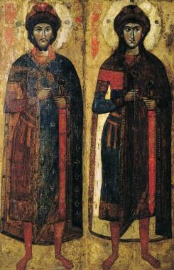 Борис и Глеб. Конец XIII в