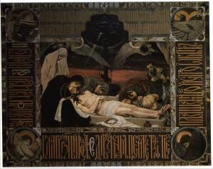 Плащаница. Положение во гроб. В. М. Васнецов. 1896
