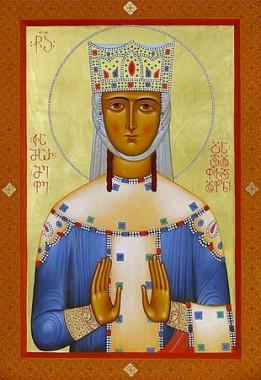 Святая благоверная царица Тамара