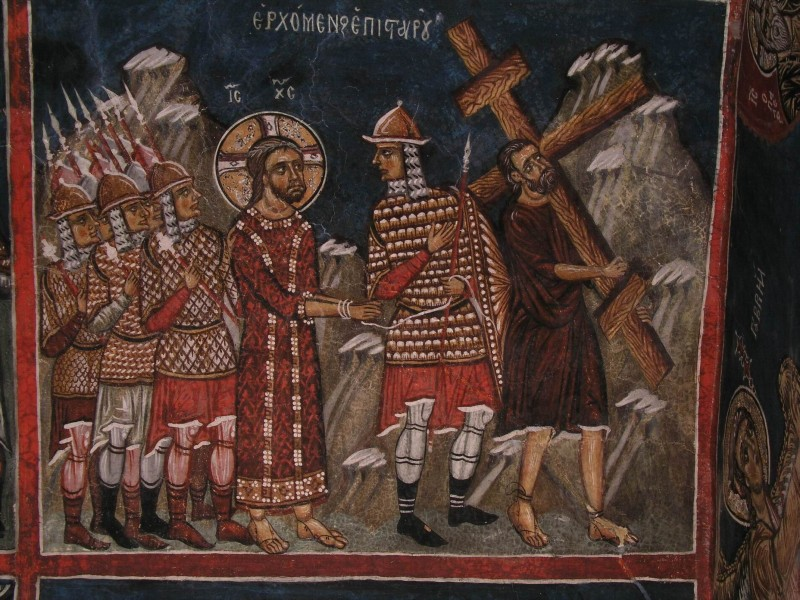 Великая Пятница. Несение Креста