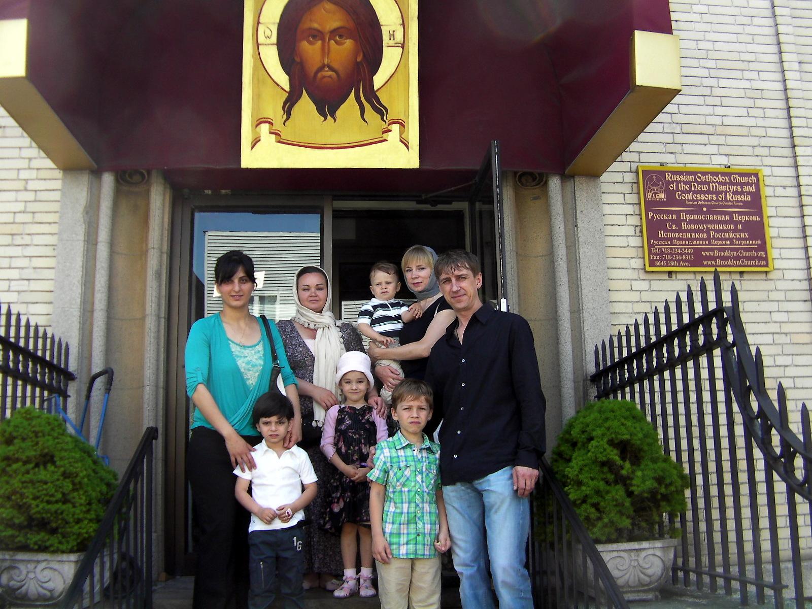 В праздник Святой Троицы