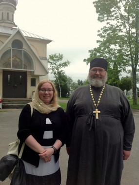 В Свято-Троицком монастыре, 9 июня 2013 г.