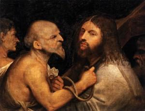 Несение креста, картина испанского художника (1506-1507)