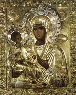 Иконы Божией Матери именуемой Троеручица