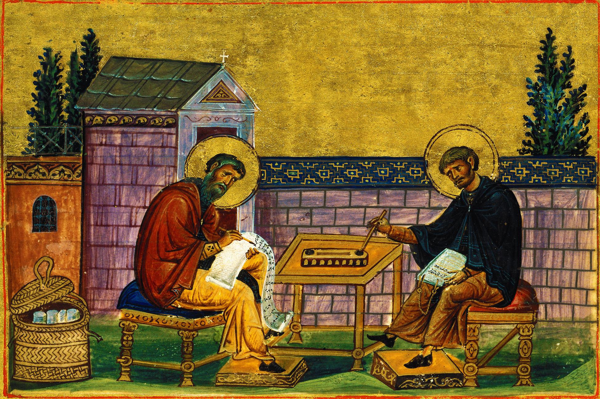 Преподобные Иоанн Дамаскин (песнописец и богослов) Косма епископ Маюмский
