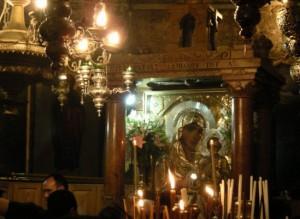 Гефсиманский храм Успения - особенное место, где вживую переживается присутствие и близость Матери Божией, словно Она Сама стоит - вот здесь и сейчас - перед тобой ...