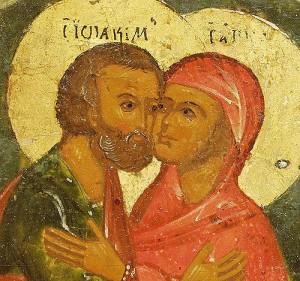Святые праведные Богоотцы Иоаким и Анна, родители Пресвятой Богородицы – святые, исцеляющие от бесплодия.