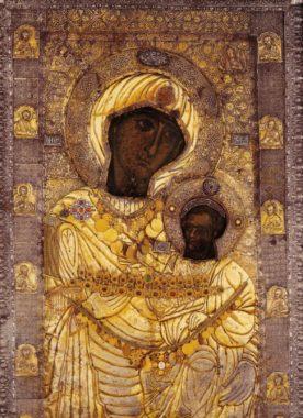 Иверская икона Пресвятой Богородицы. Афон. Иверский монастырь