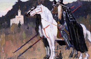 Преподобные Андрей Ослябя и Александр Пересвет