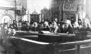 Избрание на Патриарший престол Русской Церкви святителя Тихона