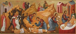 Икона, написанная на толкование притчи о милостивом самарянине блаженного Феофилакта Болгарского