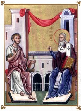 Диалог святителя Филарета с Пушкиным