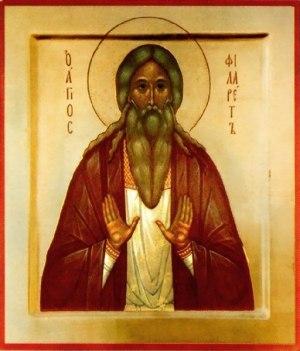 Святой праведный Филарет Милостивый
