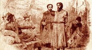 Михаил Тверской перед ханом Узбяком