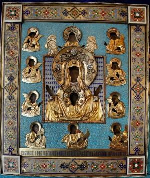 Богоматерь Знамение Курско-Коренная