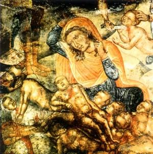 Церковь чтит память святых мучеников 14 000 убиенных Вифлеемских младенцев