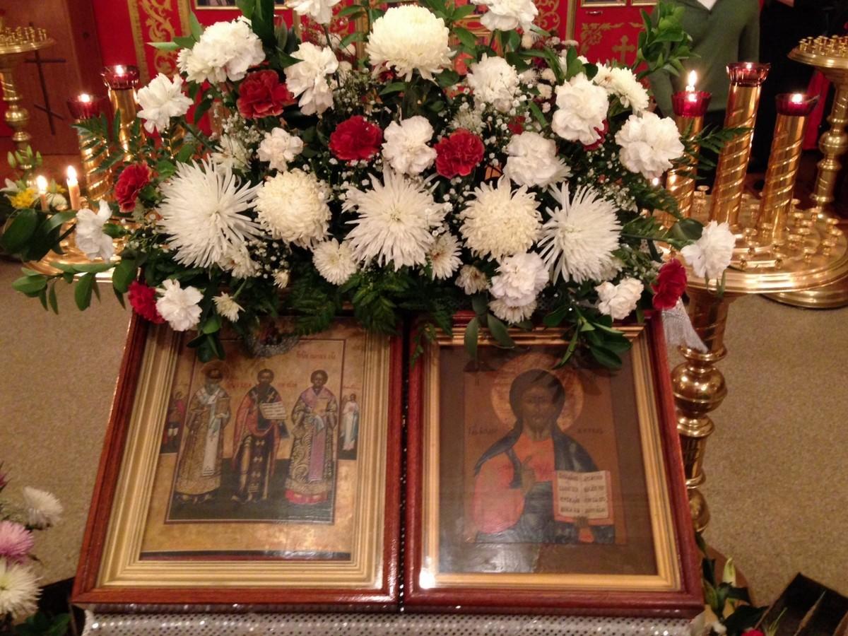 Новогодний молебен, 13 января 2014 г.