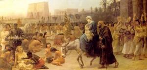 Святое семейство в Фивах