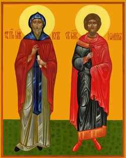 Святые чудотворцы и бессребреники Кир и Иоанн