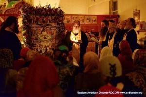Престольный праздник храма свв. Новомученков, Всенощное бдение, 8.02.2014