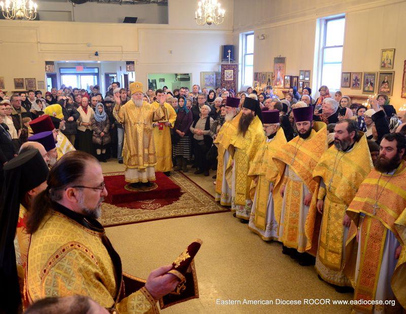 Митрополит Иларион возглавил престольный праздник храма свв. Новомученков