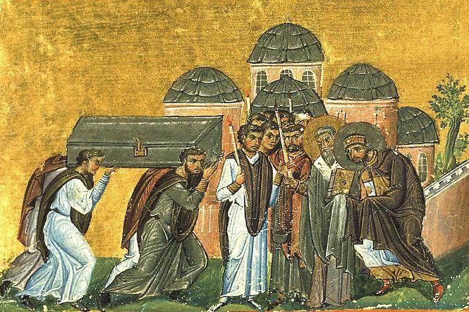 Перенесение мощей святителя Иоанна Златоуста, архиепископа Константинопольского