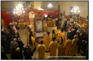 Праздник святых новомучеников отметили православные Бруклина