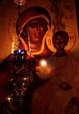 Пресвятая Владычица Богородица, спаси нас грешных