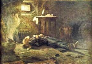 После девяти с лишним месяцев голода святитель Гермоген умер как мученик 17 февраля (ст.ст.) 1612 года