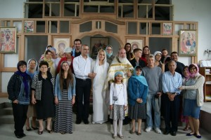 Приход храма в честь Владимирской иконы Божией Матери. Коста-Рика