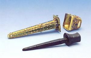 Гвоздь, привезенный святой Еленой из Иерусалима