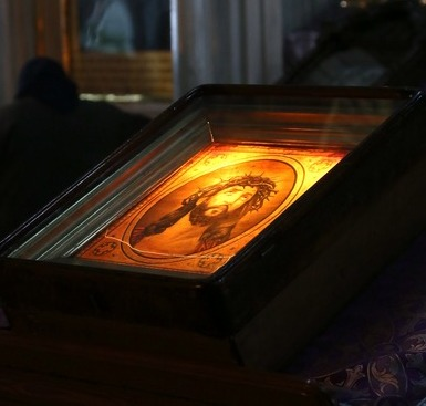 Христос на Кресте. Слово на Пассии