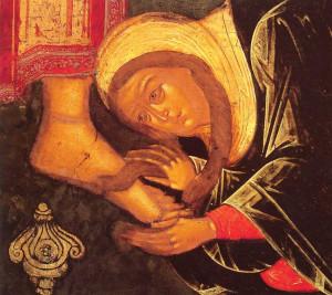 В её существе, в ее внутреннем человеке произошло великое исцеление от этого смертного греха. Она не только оставила этот грех, но и явила великую любовь к Богу
