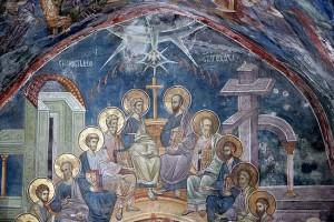 Пятидесятница. Сошествие Святого Духа на апостолов