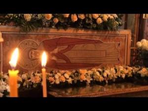 27 июня/10 июля 1998 г. состоялось обретение мощей преподобного Амвросия