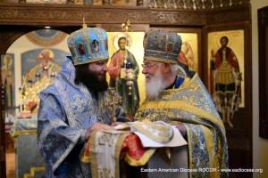 Епископ Николай Манхеттенский и протопр. Валерий Лукьянов