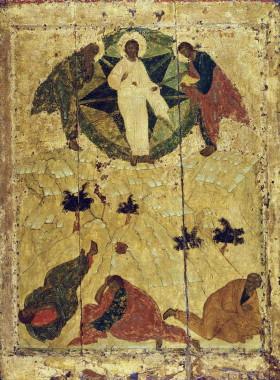 Преображение Господне. Иконописец прп.Андрей Рублёв