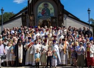 Престольный праздник Св. Александро-Невского кафедрального собора. Лейквуд, Нью-Джерси, 2014-09-13