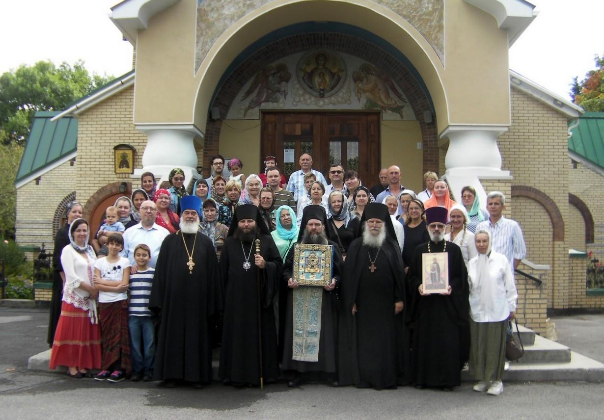 Паломничество в Свято-Троицкий Монастырь, Джорданвилль, 1.09.2014